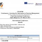 CEL4ITM - Agenda - 16.03